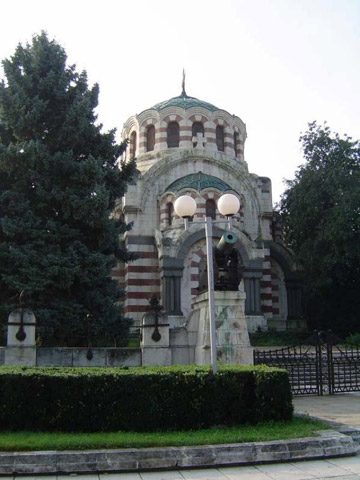 """""""St. George the Victorious"""" Chapel-Mausoleum in Pleven"""