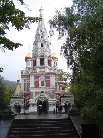 Monument-temple – town of Shipka